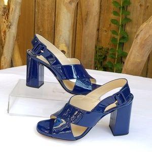 PRADA slingback block heel sandals Size 36.5/US 6